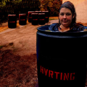 Extreme Haunt Immersive Horror HVRTING Pam Barrel Waterboarding Barrel Soak Suffocation Drowning