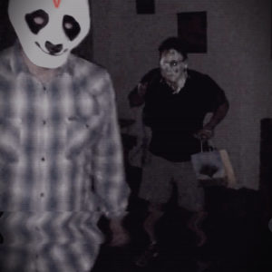 Extreme Haunt Immersive Horror HVRTING Carl Panda Projectiles Pie THrow